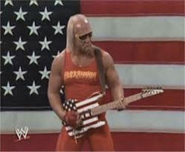 Hulk Hogan USA Flag