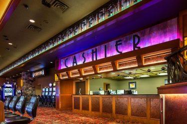 Casino Cashier Window