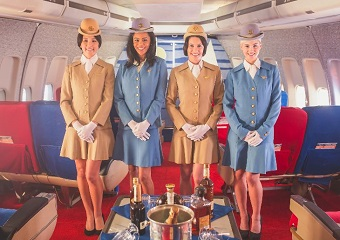 1970s Airline Stewardesses