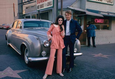 Glen Campbell with Rolls Royce