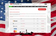BetOnline USA Deposit Options