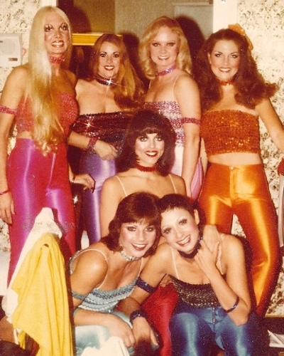 Disco Divas 1970s Spandex