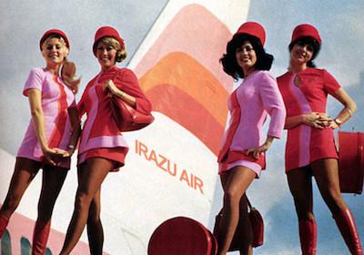 Irazu Air Flight Attendants