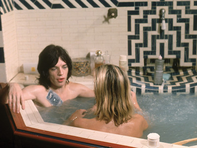 Jagger Hot Tub Blonde 1970s