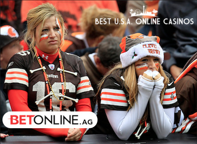 Sad Female Cleveland Browns Fans