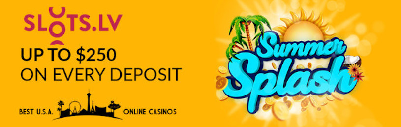 Slots.lv Summer Splash Promo
