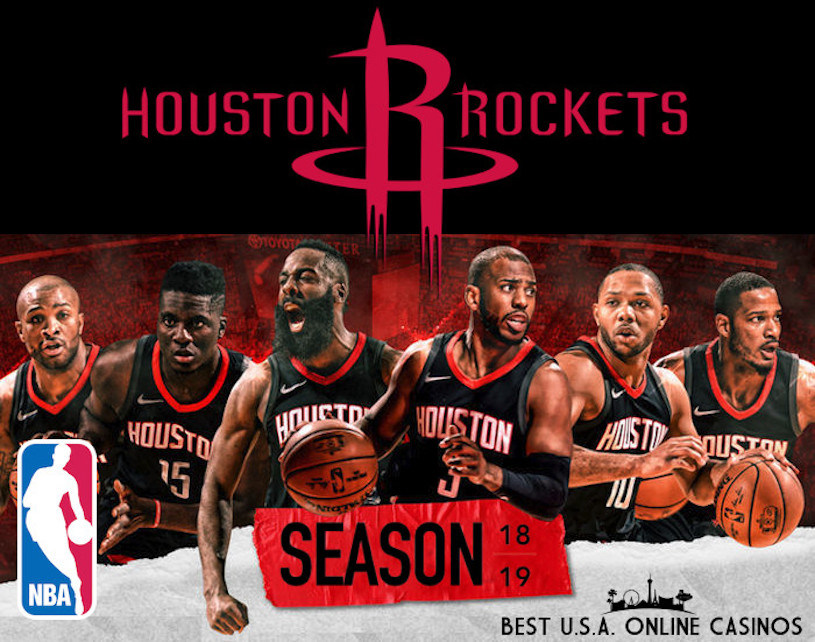 Bet on 2018 Houston Rockets