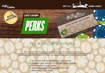 Café Casino Loyalty Perks