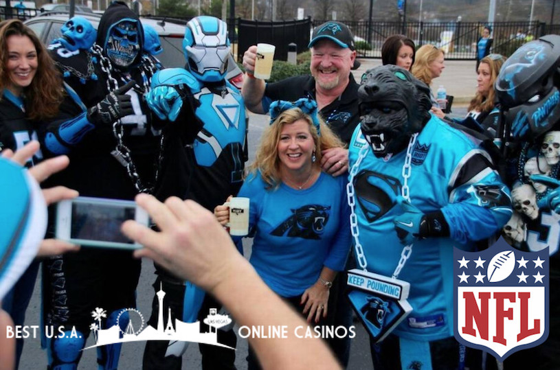 Carolina Panthers Fans Celebrate