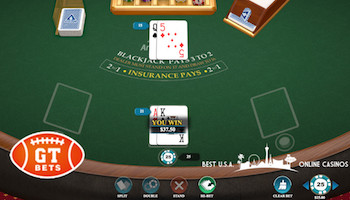 GTbets Blackjack Table