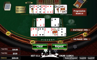 GTbets Casino Pai Gow Poker Table
