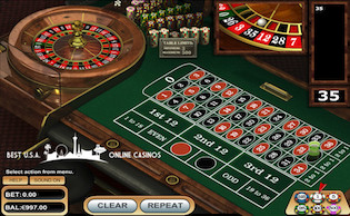 GTbets Casino Roulette Wheel