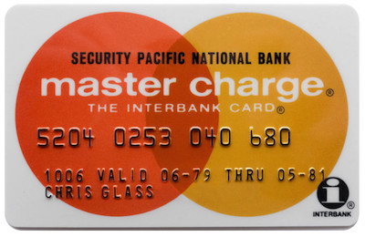 Master Charge Card