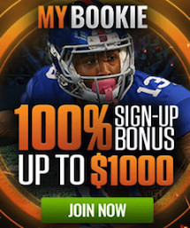 MyBookie NFL 2018 Sign Up Bonus