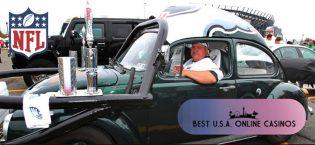 Philadelphia Eagles Fan Booze Beetle