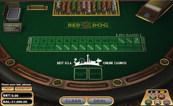 Red Dog Table GTbets