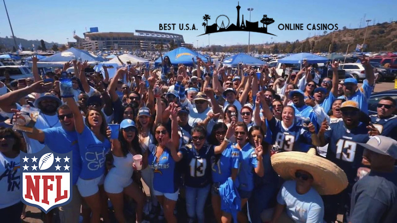 San Diego Chargers Fans Cheering