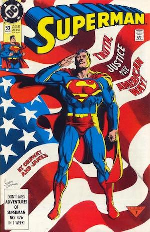 Superman Comic Book #475