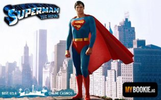 Superman Promotional Image Christopher Reeve