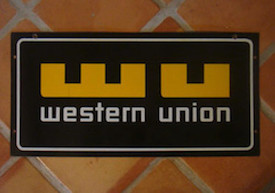 Western Union Retro Logo