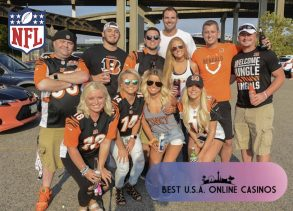 Bengals Fans at Tailgate