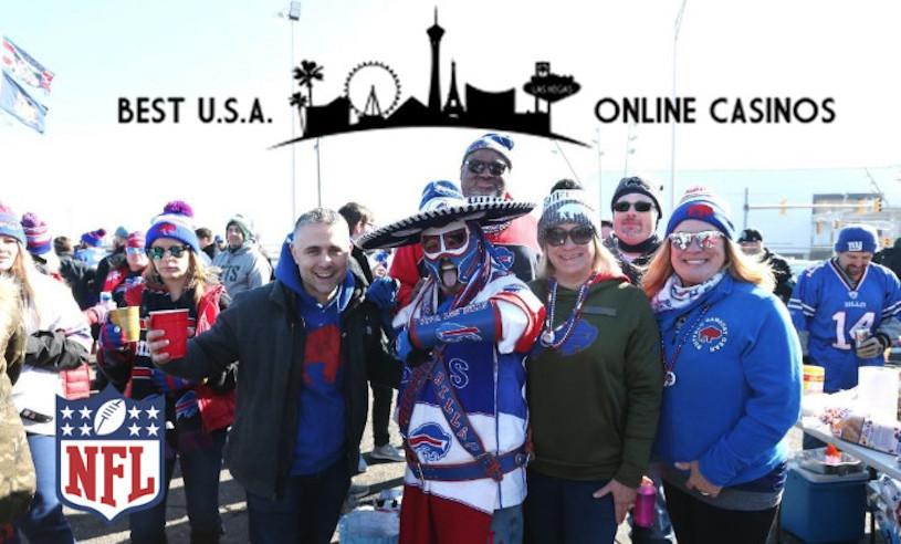 Bills Fans Smiling
