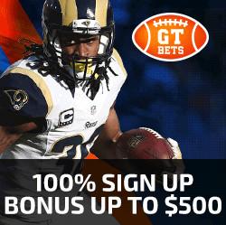 GTbets NFL Signup Bonus
