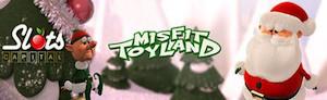 Misfit Toyland Slots Banner