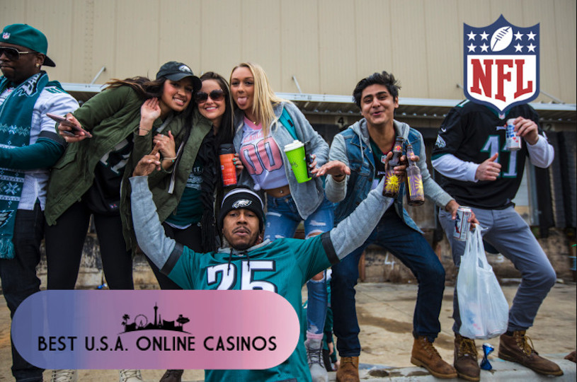 Philadelphia Eagles Fans Drunk