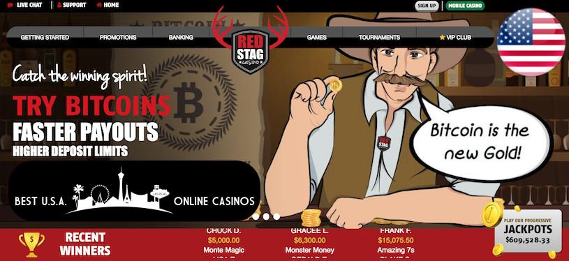 Red Stag Bitcoin Bonus Offer