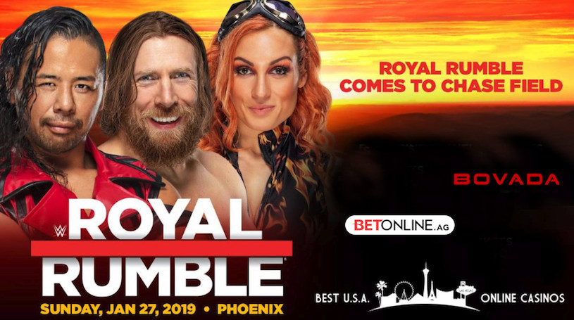 Bet on 2019 Royal Rumble