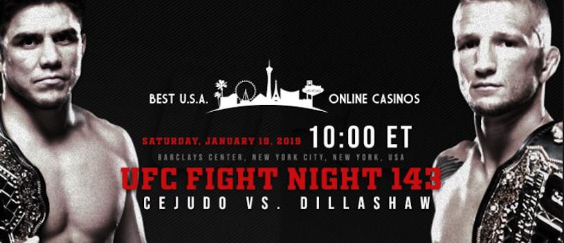 Bet on UFC Fight Night 143