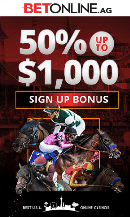 BetOnline Racebook Welcome Bonus