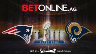 BetOnline Super Bowl 53 Banner