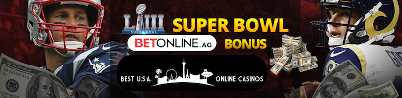 BetOnline Super Bowl 53 Signup Bonus