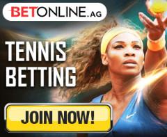 BetOnline Tennis Banner Serena