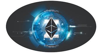 Ethereum Blue Microchip