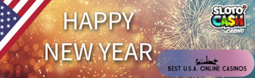 Happy New Year 2019 Sloto Cash