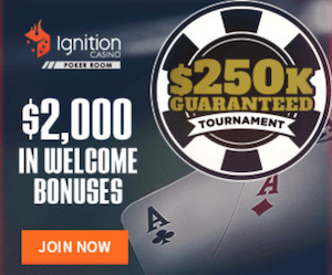 Ignition Casino Poker Welcome Bonus