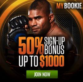 MyBookie UFC Signup Bonus
