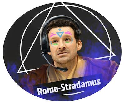 Romo-Stradamus in a Robe