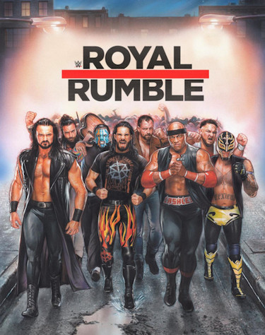 Royal Rumble 2019 Poster Reimagined