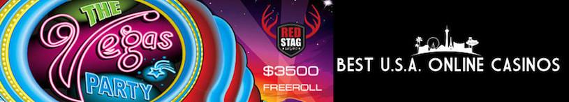 Vegas Party Tournament Red Stag