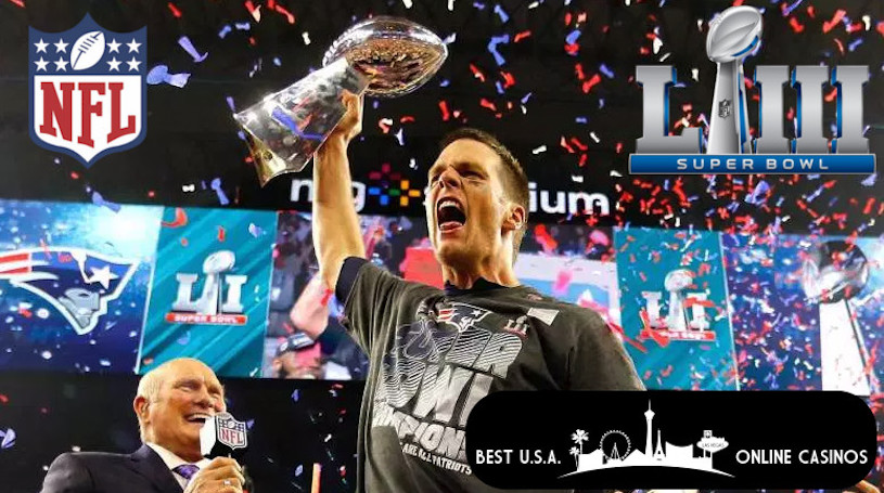 Bet on the New England Patriots at Super Bowl LIII
