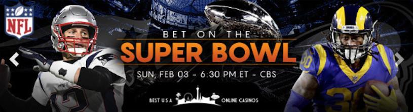Bet on Super Bowl LIII