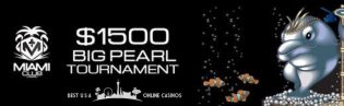 Big Pearl Slots Tournament at Miami Club Casino