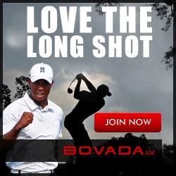 Bovada Tiger Woods Banner