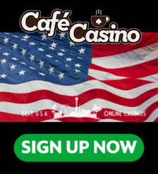 Cafe Casino Sign Up Banner