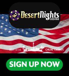 Desert Nights Casino Sign Up Banner