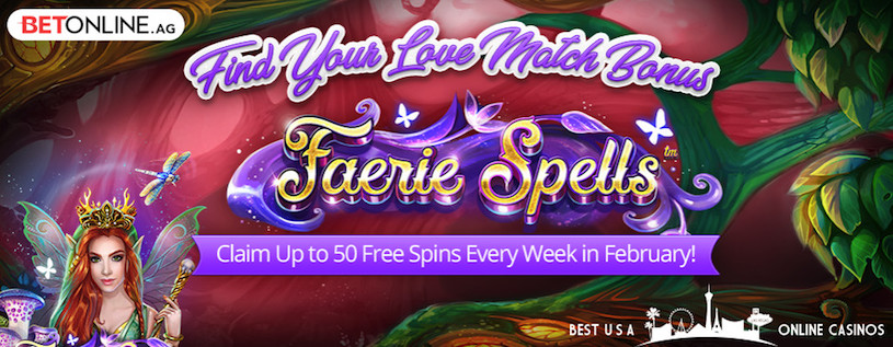 Find Your Love Free Spins at BetOnline Casino